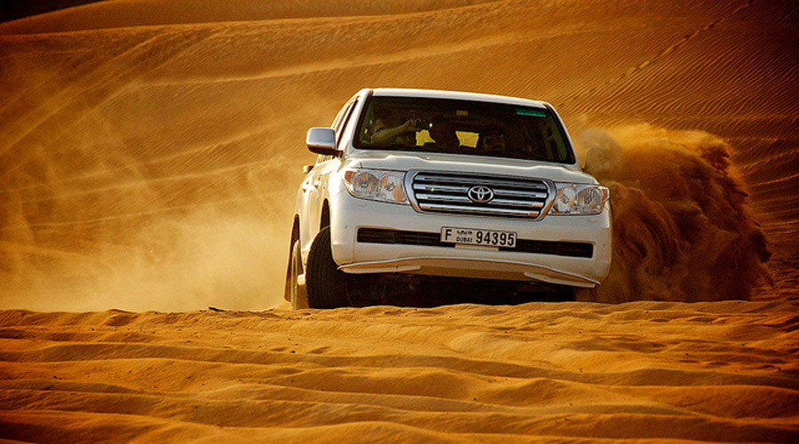 New Year Party in Desert Safari Offer