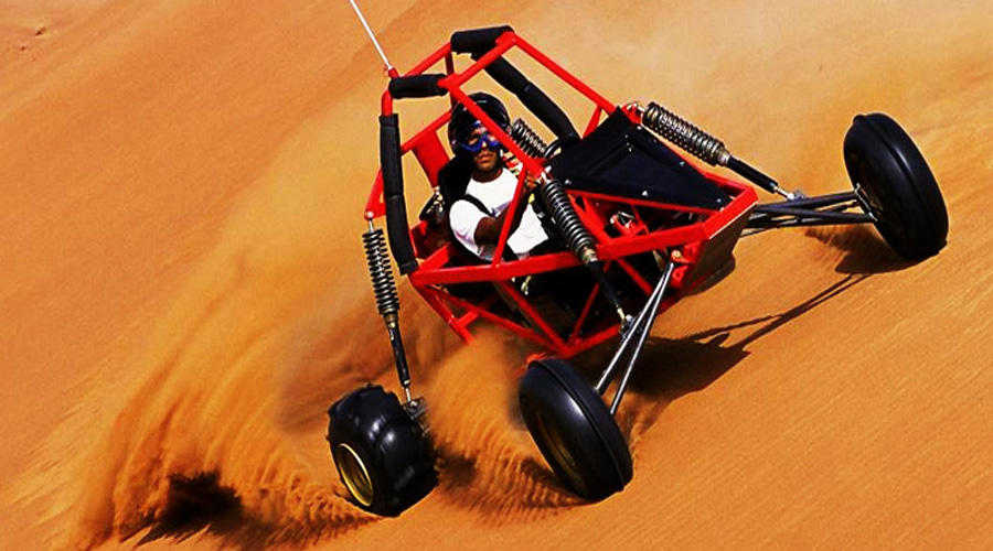 Dubai Dune Buggy Tour in Desert Safari