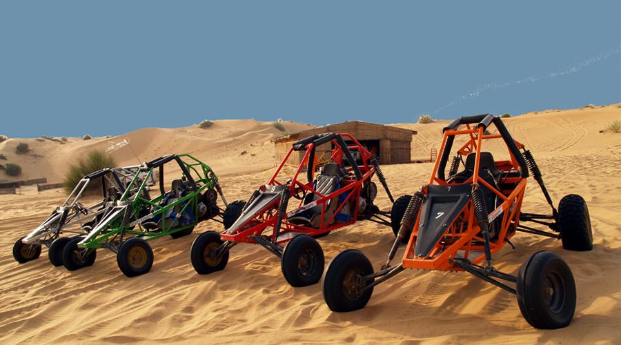 Dubai Dune Buggy Tour in Desert Safari