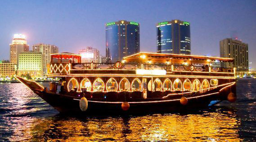 DHOW CRUISE DINNER - CREEK TOUR