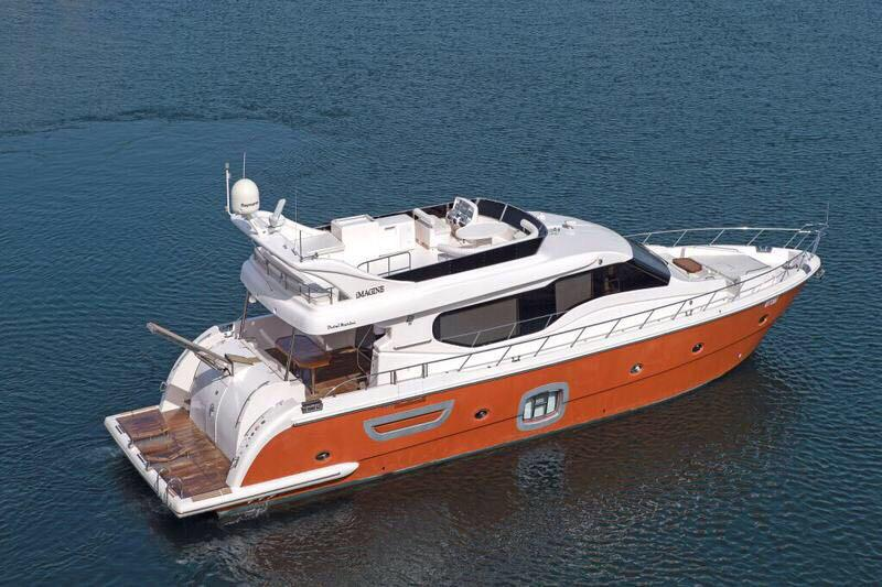 80ft yacht rental in dubai